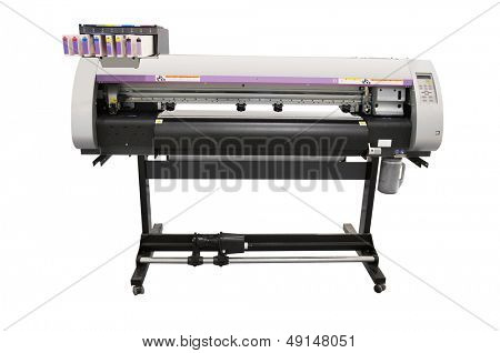 the image of a printing equipment
