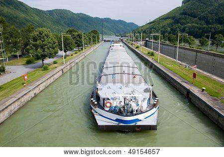 Ship In Sluice