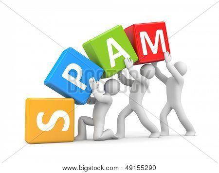 SPAM. Teamwork metaphor