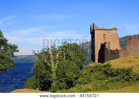 Urquhart Castle and Loch Ness, Scotland