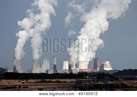 Brown Coal Power Plant