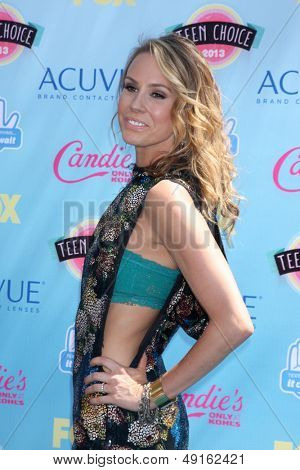 LOS ANGELES - AUG 11:  Keltie Colleen at the 2013 Teen Choice Awards at the Gibson Ampitheater Universal on August 11, 2013 in Los Angeles, CA