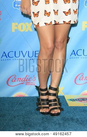 LOS ANGELES - AUG 11:  Janel Parrish in the 2013 Teen Choice Awards Press Room at the Gibson Ampitheater Universal on August 11, 2013 in Los Angeles, CA