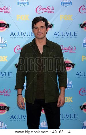 LOS ANGELES - AUG 11:  Ian Harding at the 2013 Teen Choice Awards at the Gibson Ampitheater Universal on August 11, 2013 in Los Angeles, CA