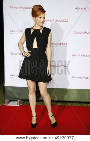 MUNICH - AUG 10: Rachel McAdams at the screening of 'About Time' at the Kino am Olympiasee on August 10, 2013 in Munich, Germany