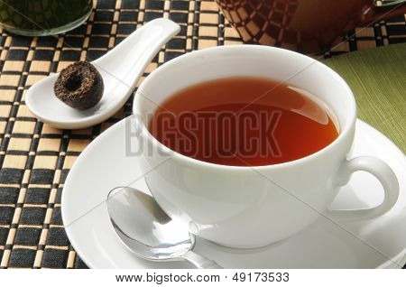 Cup Of Pu-erh Tea