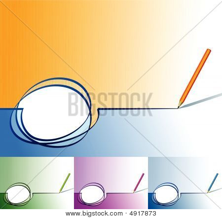 Stroke & Bleistift horisontal