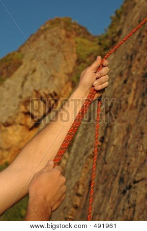 Hands Belaying