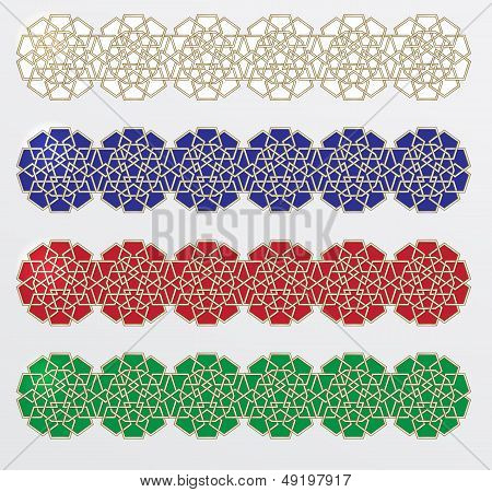 Collection of Celtic braid borderz