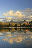 stock photo of mola  - Molas lake and Needle mountains - JPG