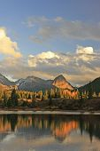 picture of mola  - Molas lake and Needle mountains - JPG