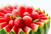 foto of watermelon slices  - Watermelon - JPG