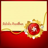 image of rakshabandhan  - vector rakshabandhan greeting background design - JPG