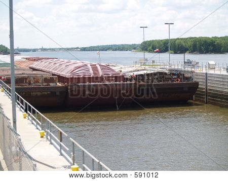 Barge In Lock