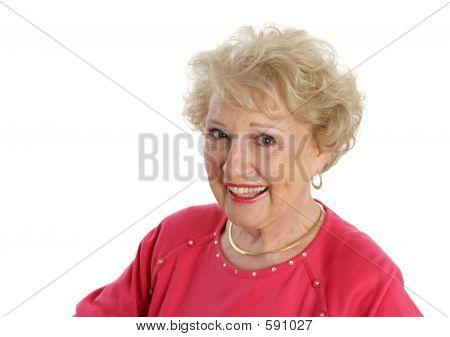 Happy Senior Lady