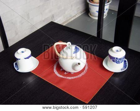 A modern looking Tea house