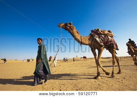 Camel Riding, Thar Desert