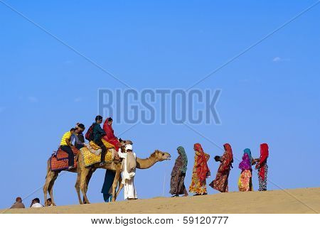 The Desert Festival In Jaisalmer