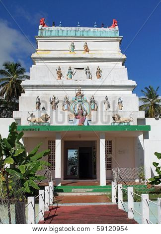 Hindu Temple, Guadeloupe, Caribbean