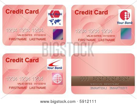Design of a credit card