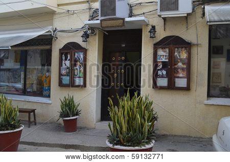 STONE TOWN, ZANZIBAR - DECEMBER 12: The house in which Freddy Mercury lived in Zanzibar on 12 December 2013 in Stone Town, Tanzania.