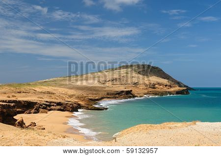 Colombia, Pilon De Azucar Beach In La Guajira