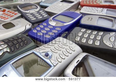 Old Cellular Phones 1