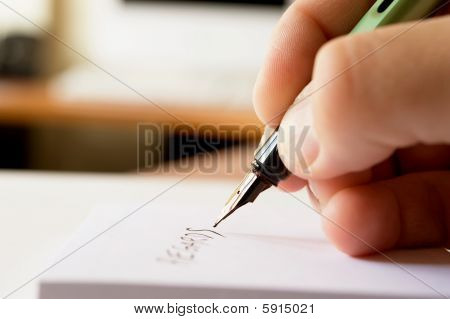 Hand Writing Note 1