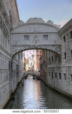 Bridge of Sigh in Venice, Italy