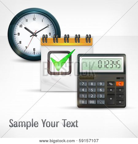 Calculator & Clock