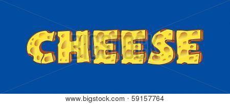 Cheese Inscription