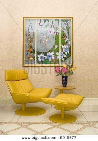 Interior moderno con Vitrage
