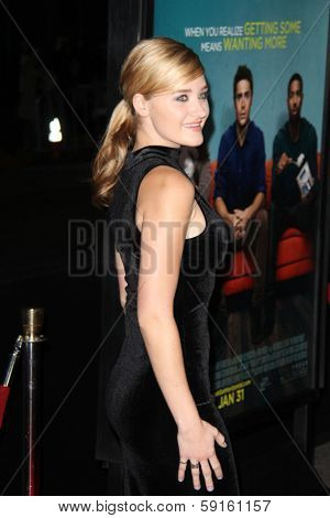 LOS ANGELES - JAN 27:  AJ Michalka at the