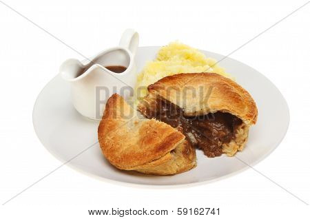 Meat Pie And Gravy