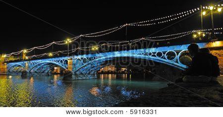 Triana bridge Seville Spain