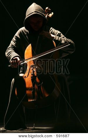 The Girl With A Violoncello - 1