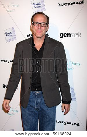 LOS ANGELES - JAN 28:  Clark Gregg at the