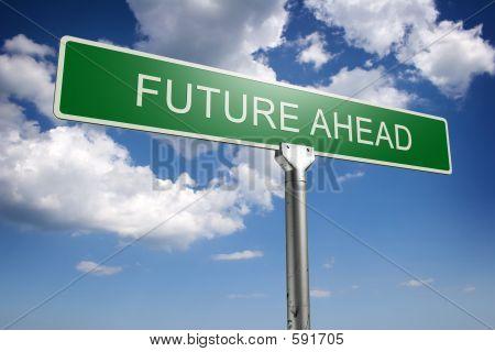 Futuro conceito adiante