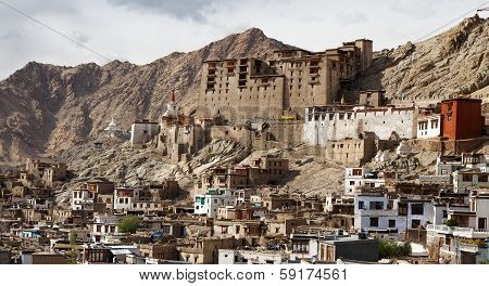 Leh Palace - Ladakh - Jammu And Kashmir - India
