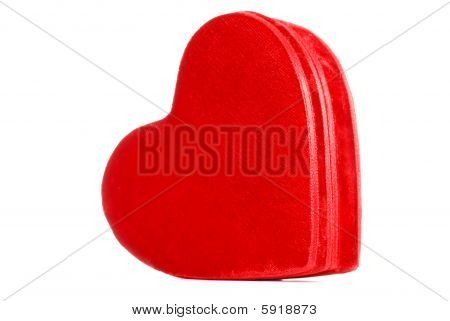 Red Velvet Heart Box