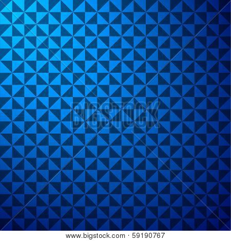 creative blue triangle pattern background
