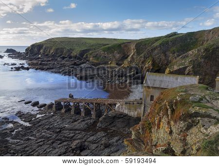 Lizard Point Old Lifeboat Station
