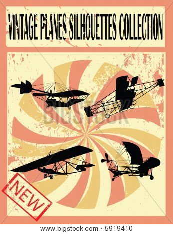 Vinteage Planes Collection