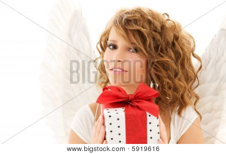 Angel With Gift