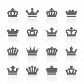 foto of monarch  - crowns - JPG