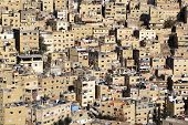 stock photo of jabal  - The jabal al hussein residential area in Amman - JPG