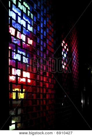 Abstract Neon Lights