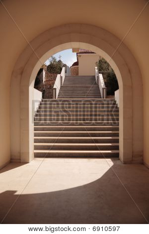 Stairs In Arch