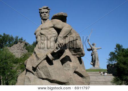 Mamaev Kurgan in Volgograd