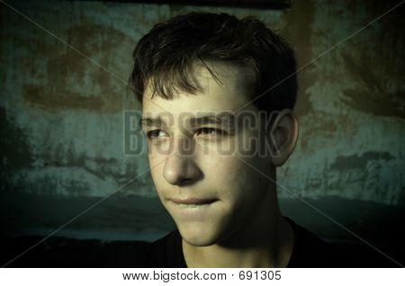 Teen In Bad Mood